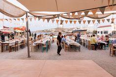 TARSANAS WEDDING PARTY-SYROS sweet salmon fresh mint old shipyard concept| lafete