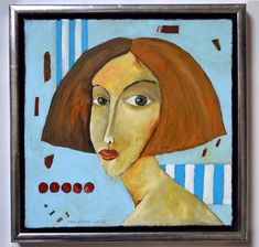Lilian - oil on canvas - Miroslaw Hajnos