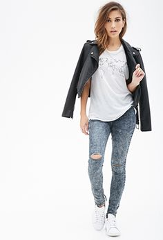 World Map Muscle Tee | FOREVER 21 - 2052287891