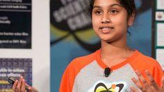 Joven crea energía renovable con dispositivo que cuesta 5 dólares -- Maanasa Mendu