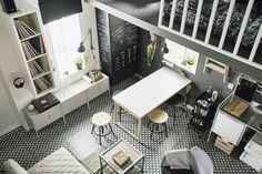 METOD/UDDEVALLA keuken | IKEA IKEAnl IKEAnederland nieuw inspiratie wooninspiratie interieur wooninterieur studentenkamer kamer studio veelzijdig woonkamer