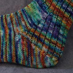 Ravelry: Make Your Heels Strong pattern by Erica Jackofsky (Fiddle Knits) Hand Knitting Yarn, Knitting Stitches, Knitting Socks, Knitting Patterns, Crochet Socks, Knit Or Crochet, Knit Socks, How To Purl Knit, Yarn Shop