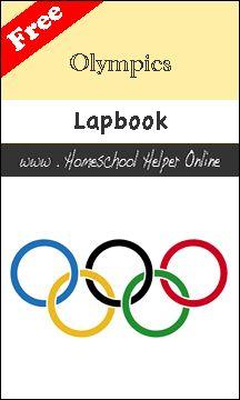 Free Olympics Lapbook - Homeschool Helper Online
