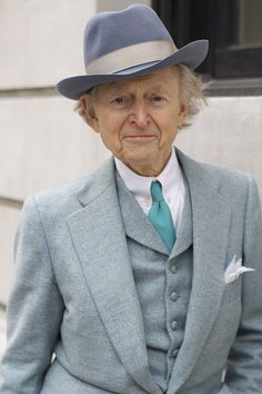'What a lucky moment to be able to photograph writer Tom Wolfe on the Upper East Side'