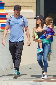Giving her the world!Channing Tatum and Jenna Dewan bought Everly a toy globe while in Atlanta on Sunday