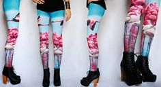 Flamingos Leggings