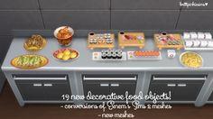 Lana CC Finds - brittpinkiesims: The Sims 4: DIY Restaurant...