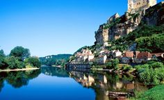Dordogne River in France. From: 25 Perfect Spots for Getting Away From It All.