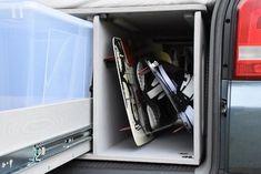 VW T5/T6 Transporter - TRAVEL-SLEEP-BOX Vw T5, Volkswagen, T5 Transporter, Caravelle Vw, Sleep Box, Vans, Travel, Accessories, Van Camping