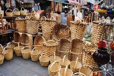 Hand crafted Abaca baskets