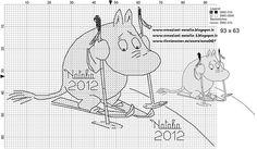 "Photo from album ""Schemi - Natalia/ Схемы - Natalia"" on Yandex. Cross Stitch For Kids, Cross Stitch Alphabet, Cross Stitch Baby, Cross Stitch Charts, Cross Stitch Designs, Cross Stitch Patterns, Knitting Charts, Knitting Patterns, Stitch Movie"