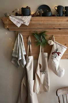 Christmas stocking - Natural white/Hare - Home All | H&M GB 1