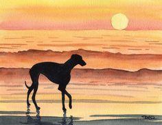 """Greyhound Sunset"" by DJ Rogers"