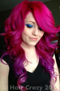 K Michelle Blue Hair ... ...Colorful! on Pinterest | Pink hair, Blue streaks and Blue hair