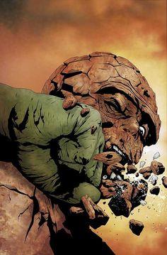 #Hulk #Fan #Art. (Hulk and Thing Hard Knocks Vol.1 #3) Cover By: Jae Lee. (THE * 5 * STÅR * ÅWARD * OF: * AW YEAH, IT'S MAJOR ÅWESOMENESS!!!™)[THANK Ü 4 PINNING!!!<·><]<©>ÅÅÅ+(OB4E)