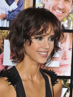 Even curly-haired girls can wear short hair! Embrace your hair's natural texture and try one of these 14 chic celebrity haircuts.