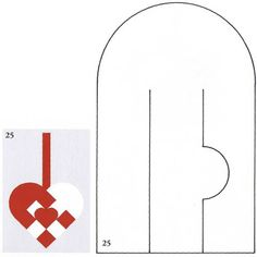 Pattern for woven heart pocket that creates a heart in the center.  Cute, I'll have to try it and see.