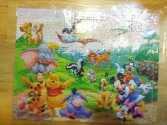Disney puzzle that I put together.