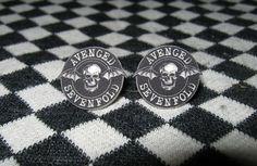Avenged Sevenfold Stud Earrings