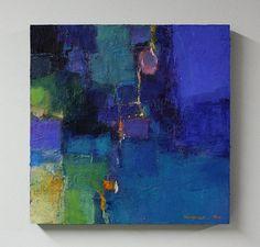 Small Box Painting 1016 Original Oil Painting by hiroshimatsumoto, $100.00