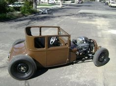 1927 Ford T Coupe