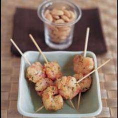 Almond Crusted Shrimp Recipe - Diabetic Gourmet Magazine - Diabetic Recipes DiabeticGourmet.com