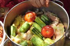 Kurdish Stuffed Vegetables