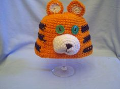 Tiger Hat and Diaper Cover Photo Prop Set for by BabblingHook, $24.00