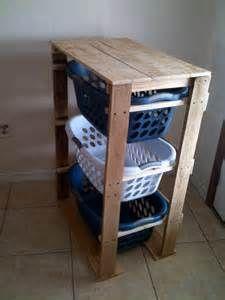 Pallirondack Laundry Basket Dresser