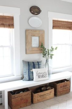 Details in a cottage style home