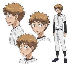 Big Windup character design: Mihashi Ren https://www.facebook.com/CharacterDesignReferences