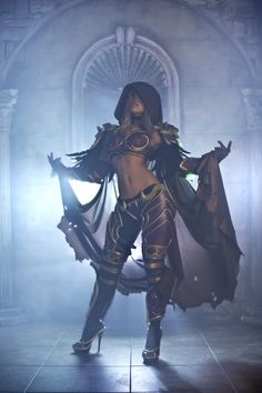 Lady Sylvanas from World of Warcraft. The ultimate lady for our Virgin Experience...