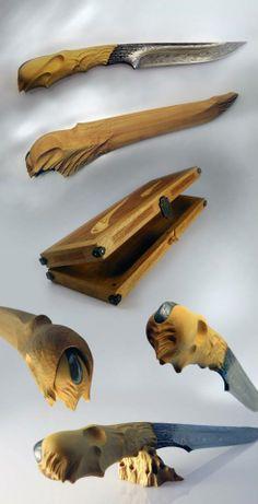 Matthieu Petitjean hand made knifes