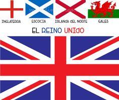 La diferencia entre Inglaterra, el Reino Unido y Gran Bretaña