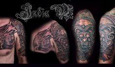 Photo from India Makinucci - Toronto Tattoo Artist at Black Line Studio Gallery