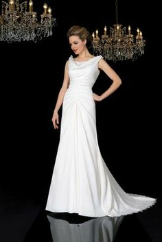 I chan-de-lier love you in a gorgeous wedding dress from Edel-Tuite Bridal Designs