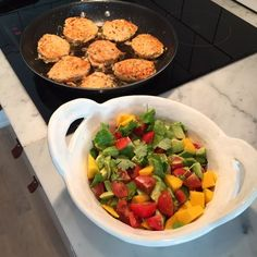 Laxbiffar med koriander, lime och chili – Fyscoachen