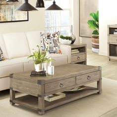 Riverside 59403 Myra Caster Coffee Table available at Hickory Park Furniture Galleries