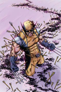 Wolverine by Sebastian Fiumara. Color by Rodrigo Díaz #wolverine #comic #modernistablog