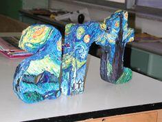 Resultado de imagen para paper mache art projects for elementary students Sculpture Lessons, Sculpture Projects, Sculpture Art, Art Club Projects, High School Art Projects, Middle School Art, Art School, 8th Grade Art, Collaborative Art