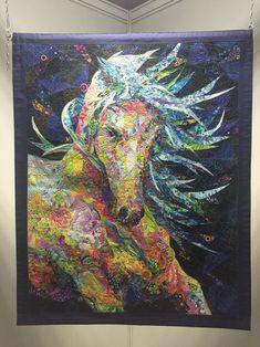 Danny Amazonas horse art quilt