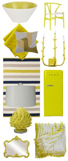 Acid yellow: a shocking shake-up we're crazy about!