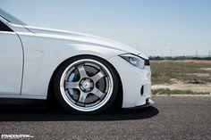 BMW 3-Series (F30) 328i on SSR Professor SP1 wheels.   Photos by John Zhang - STANCENATION.