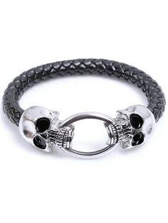 Double Dragon Cord Bracelet