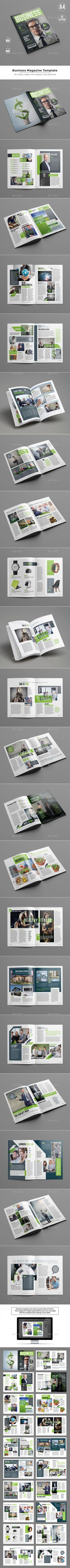 Business Magazine Template - Magazines Print Templates Download here : https://graphicriver.net/item/business-magazine-template/19479725?s_rank=70&ref=Al-fatih