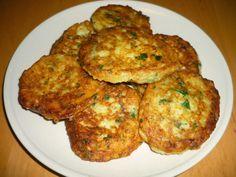 Zucchini-Kartoffel Puffer - Kabak ve Patatesli Mücver