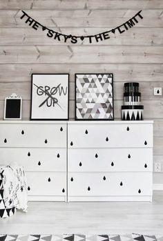DIY: baner literowy OMM Design