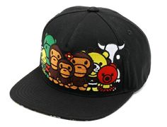 Milo Chara Snapback Cap by BAPE Best Caps, Japanese Streets, Snapback Cap, Bape, Chara, Street Wear, Tights, How To Wear, Fashion