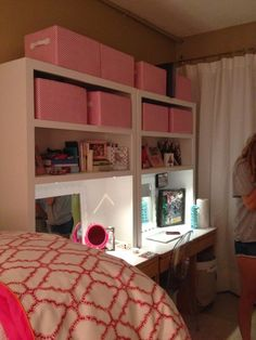 Ole Miss Martin Dorm Room Desk Hutches Perfect For