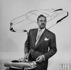 Raymond Loewy was a French-born American industrial designer who achieved fame for the magnitude of his design efforts across a variety of industries. Raymond Loewy, Famous Product Designers, Industrial Design Sketch, Design Movements, Google Doodles, People Of Interest, Wassily Kandinsky, Icon Design, Images